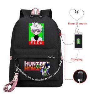 Sac A Dos Hunter X Hunter Killua Zoldyck Baka