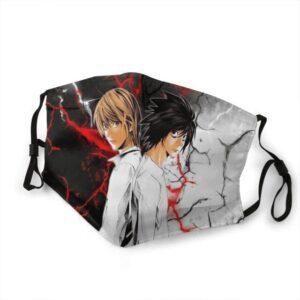 Masque Death Note Light Yagami x L Ryuzaki