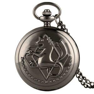 Montre Full Metal Alchemist De Gousset Bronze