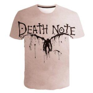 T-Shirt Death Note Ryuk Encre