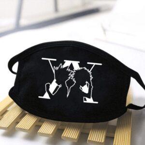Masque Hunter X Hunter Noir Et Blanc