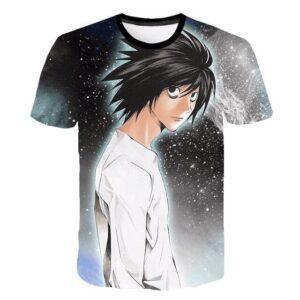 T-Shirt Death Note L Ryuzaki