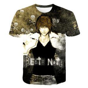 T-Shirt Death Note Yagami Tueur