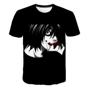 T-Shirt Death Note Dark L