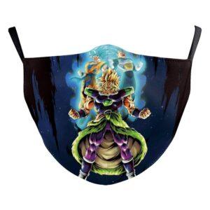 Masque Dragon Ball Super Broly SSJ