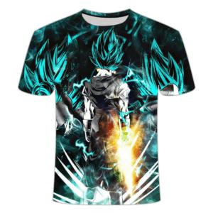 T-Shirt DBS Goku Super Saiyan Blue