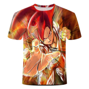 T-Shirt DBS Goku Super Saiyan Divin