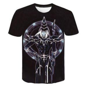 T-Shirt Yu-Gi-Oh! Magicien Sombre