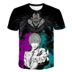 T-Shirt Death Note Light Yagami Pouvoir