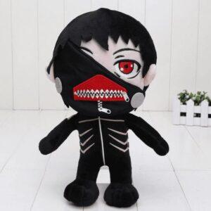 Peluche Tokyo Ghoul Kaneki Cheveux Noir