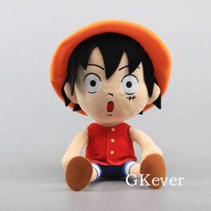 Peluche One Piece Luffy Étonné