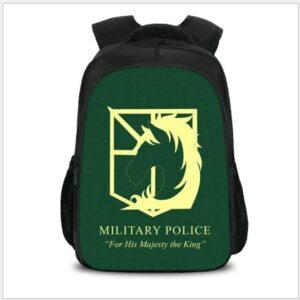 Sac A Dos L'attaque Des Titans Police Militaire