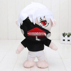 Peluche Tokyo Ghoul Kaneki Cheveux Blanc
