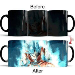 Mug Dragon Ball Super Goku SSJ Blue