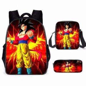 Sac A Dos Dragon Ball GT Goku SSJ 4