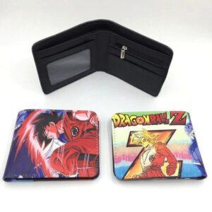 Portefeuille Dragon Ball Z Goku Kaioken