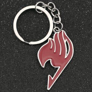 Porte Clé Fairy Tail Logo Rouge