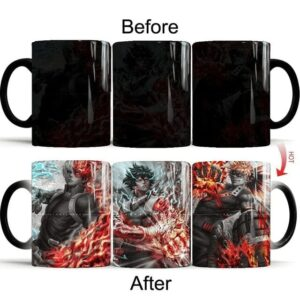 Mug My Hero Academia Deku x Kacchan x Shoto