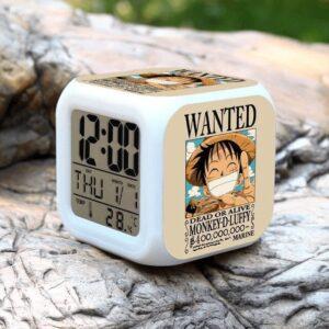 Réveil One Piece Wanted Luffy