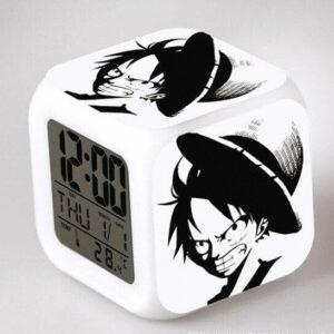 Réveil One Piece Luffy au Chapeau de Paille