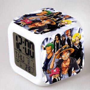 Réveil One Piece Équipage Pirate