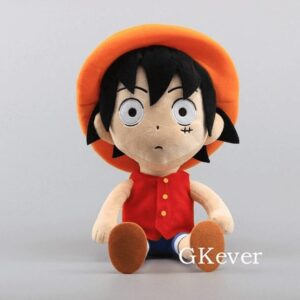 Peluche One Piece Luffy Silencieux