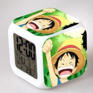 Réveil One Piece Luffy Enfant