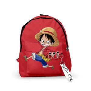 Sac A Dos One Piece Monkey D Luffy