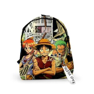 Sac A Dos One Piece Équipage Luffy
