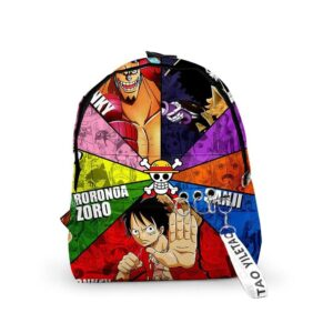 Sac A Dos One Piece Mugiwara No
