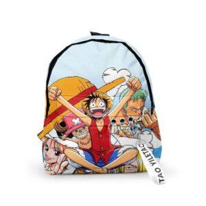 Sac A Dos One Piece L'Équipage du Chapeau de Paille