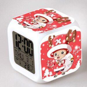 Réveil One Piece Chooper le Renne de Noël