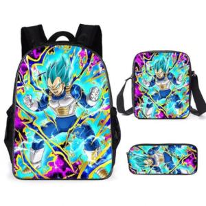 Sac A Dos Dragon Ball Super Vegeta SSJ Blue