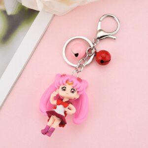Porte Clé Sailor Moon Rose