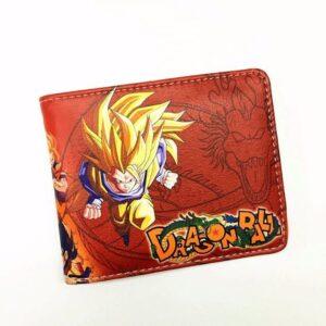 Portefeuille Dragon Ball Z Goku SSJ 3