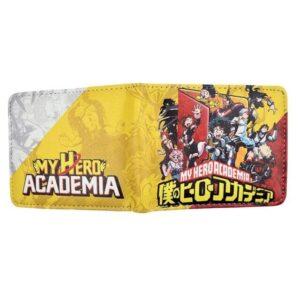 Portefeuille My Hero Academia Seconde A