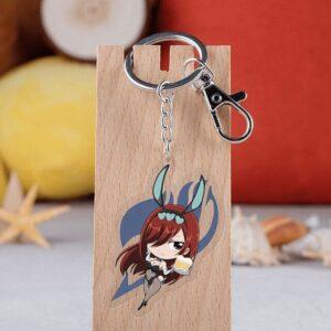 Porte Clé Fairy Tail Erza Scarlett