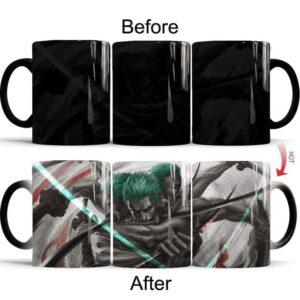 Mug One Piece Techniques de Zoro