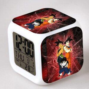 Réveil Dragon Ball Z Goku Bardock et Gohan