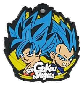 Porte Clé Dragon Ball Super Goku et Vegeta SSJ Blue