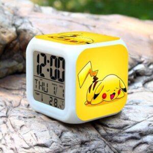 Réveil Pokémon Pikachu