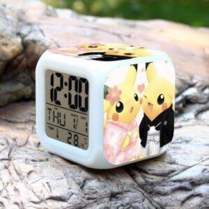 Réveil Pokémon Pikachu Tenue Traditionnelle
