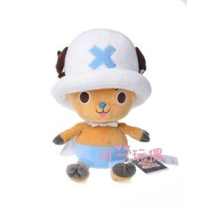 Peluche One Piece Chapeau Blanc