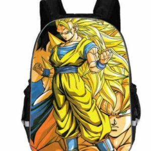 Sac A Dos DBZ Goku Super Saiyan 3
