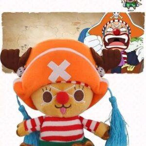 Peluche One Piece Chopper Buggy