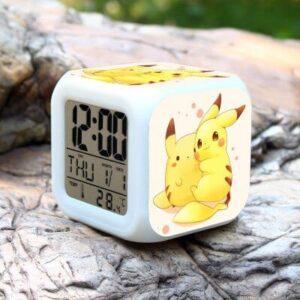 Réveil Pokémon Pikachu Kawaii