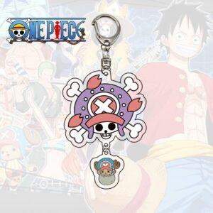 Porte Clé One Piece Jolly Roger Chopper