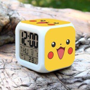 Réveil Pokémon Pikachu Face