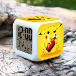 Réveil Pokémon Pikachu pleure