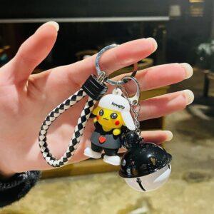 Porte Clé Pokémon Pikachu Cloche